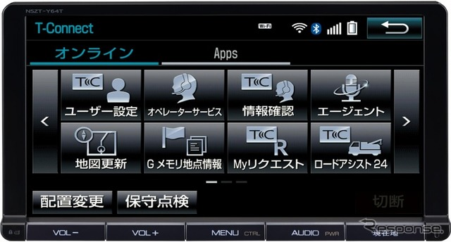 Navigation system compatible with Toyota T-Connect