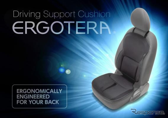 Lower back pain for driving support cushion-エルゴテラ