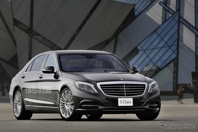 New Mercedes-Benz S-class S500 plug-in hybrid