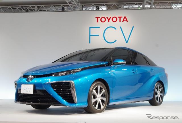 Toyota FCV Sedan (reference image)