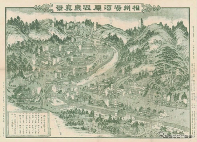 Phase in Yugawara hot spring, Jing (1910)