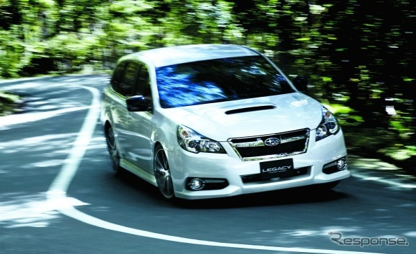Subaru legacy-to-ring wagon.0gt direct-injection Turbo