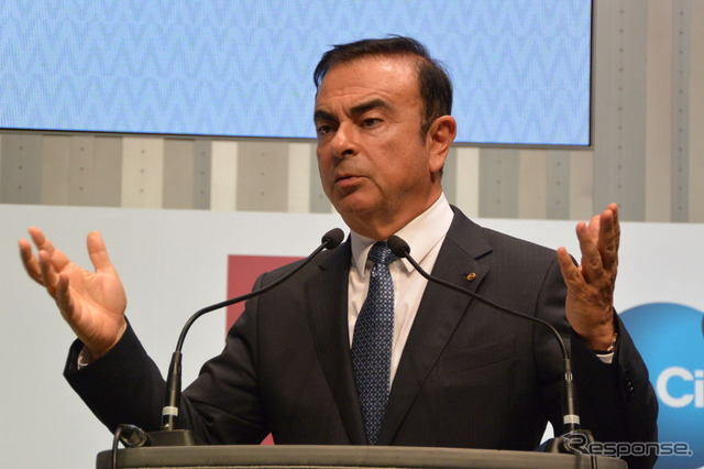 And Nissan Motors Carlos Ghosn CEO