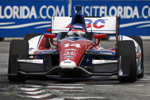 Takuma entered the fifth place in the Toronto race 2 (game 14) machine Photo: Honda ( day driving )