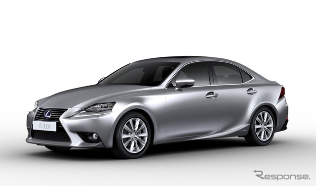 New Lexus IS hybrid IS 300h (Europe specs)