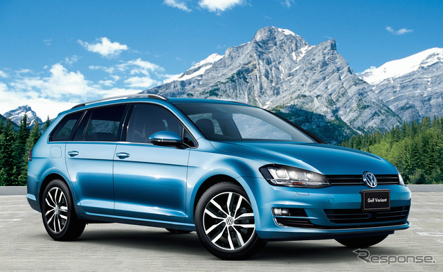 VW Golf variant TSI Highline