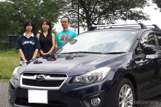 Impreza's favorite ago sugata kimikazu and wife, Missy's ( right from order )
