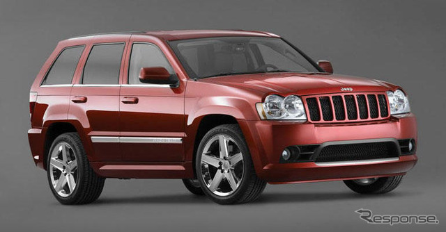 Its predecessor's Jeep Grand Cherokee