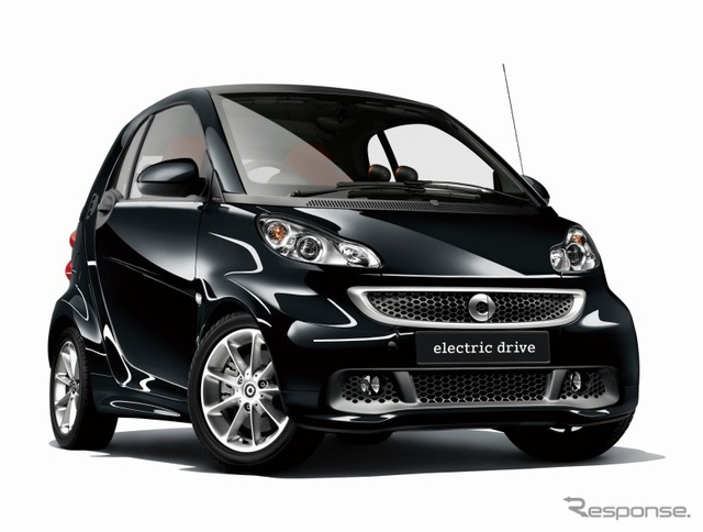 Smart Fortwo electric drive Edition black