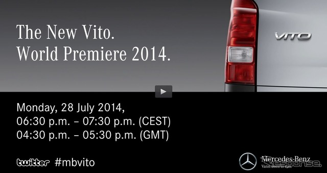 New Mercedes-Benz Vitor notice image