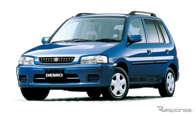 The first-generation Mazda Demio