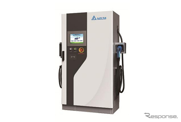 EV rapid charger CHAdeMO/Combo / DCJ503C5A (50 kW output type )