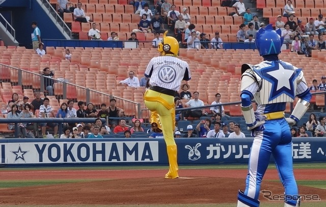 7/22, Yokohama DeNA-Sino-Japanese war and ceremonial first pitch appeared and a memorable play was the beetle-Mann