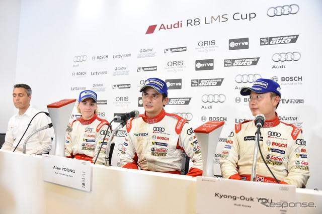 Audi R8 LMS CUP round 2