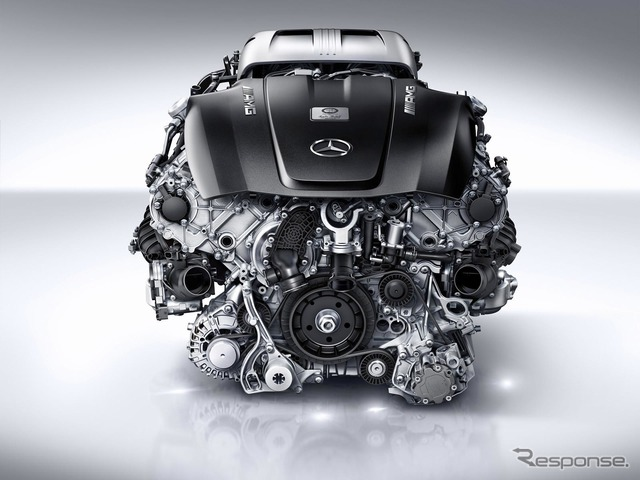 Mercedes - AMG for the GT 4.0-liter V8 Twin-Turbo