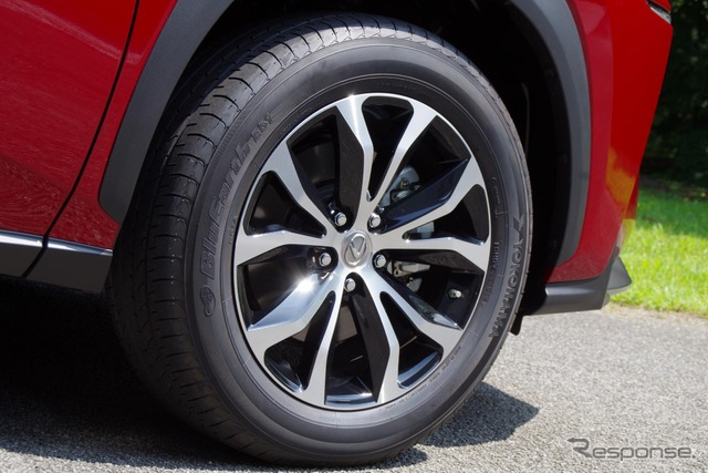Lexus NX to use Yokohama Rubber's BluEarth and Geolandar Tires
