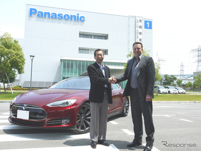 Panasonic and Tesla agreed to cooperation in large scale battery plant