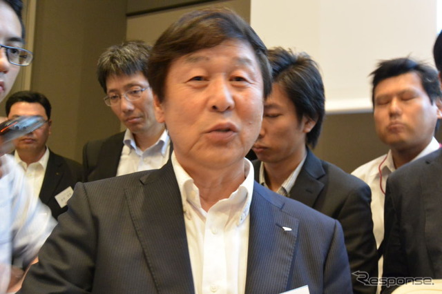 Daihatsu Director and Senior Executive Makoto Irie