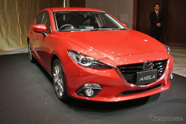 Mazda's all-new Axela