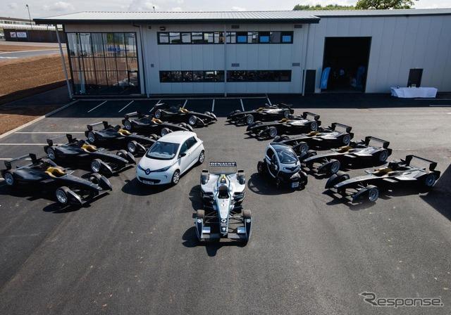 Formula E machine, spark - Renault SRT_01E