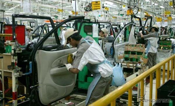 Daihatsu Indonesia factory