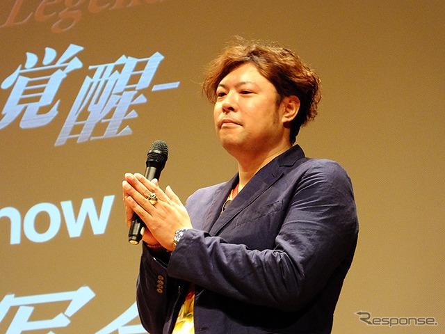CG producer Matsuura Yutaka Akatsuki ( Ken Kawanishi )