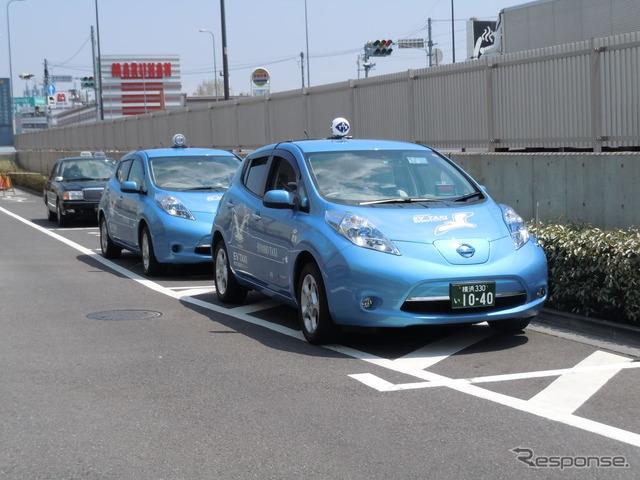 EV taxi (image)
