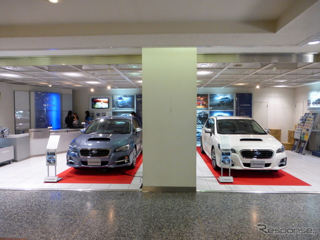 Subaru Shinjuku Showroom, August 6, 2014