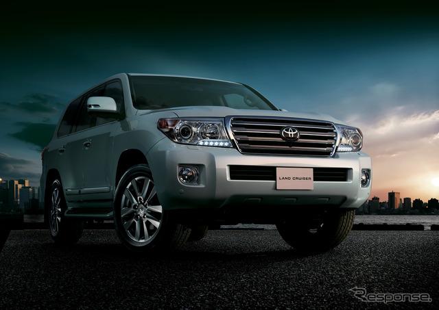 Toyota Land Cruiser (reference image)