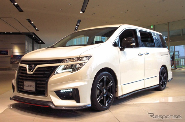 The Nissan Elgrand Nismo Performance Package