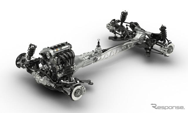 New Mazda MX-5 Miata chassis