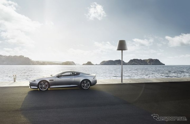 DB9 Coupe rides held on 8/31 and V12 Vantage S Atlantic cars,