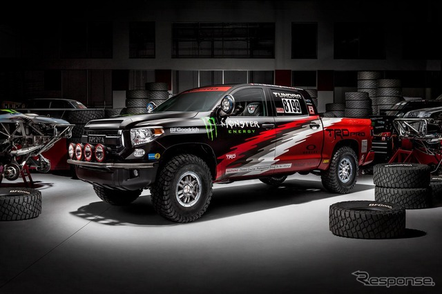 The Toyota Tundra TRD Pro that will compete at Baja 1000