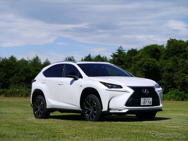 Lexus NX (The exterior of the F-Sport)