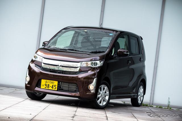 Partially upgraded Mitsubishi eK Custom