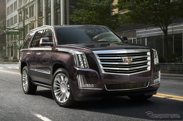 Cadillac Escalade Platinum ( photographs United States specification )