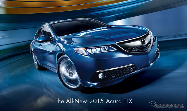 Acura TLX advertisements