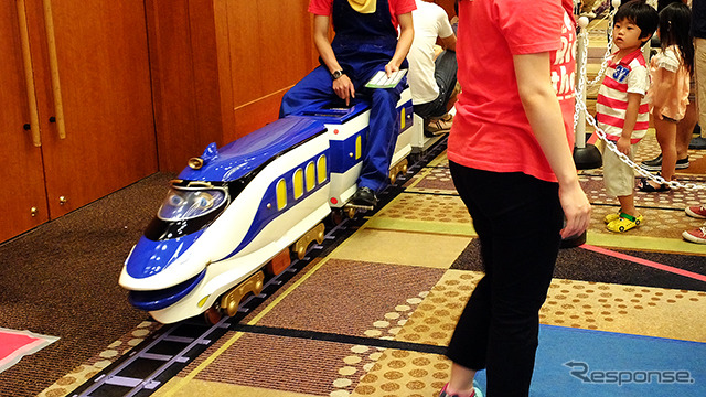 Want to Hanzo pulled MINI train ride!