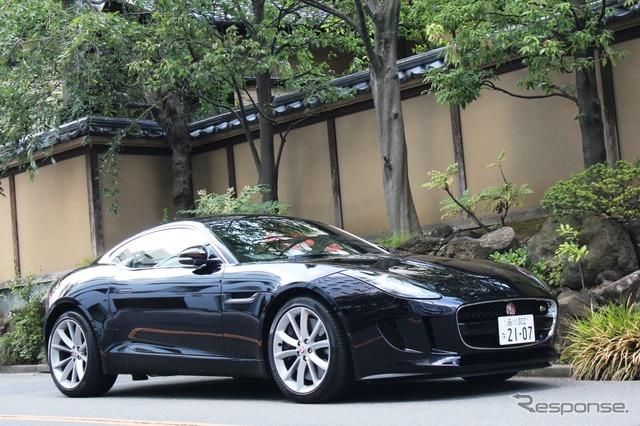 Jaguar F タイプクーペ