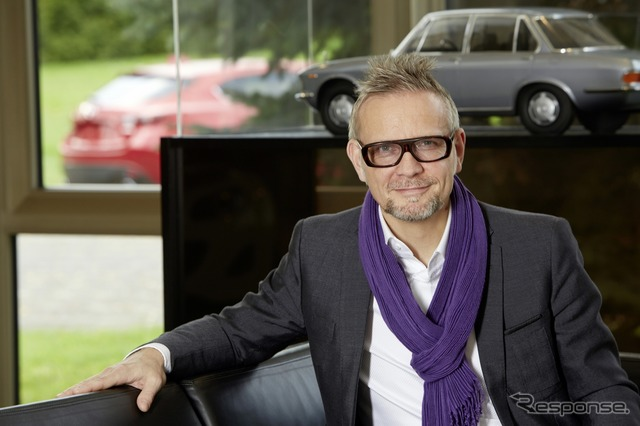 Kevin Rice, who was named design director of Mazda Europe
