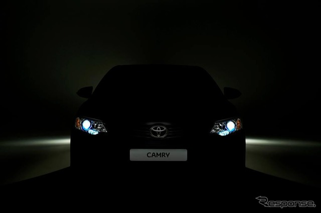 Teaser of the improved new Camry