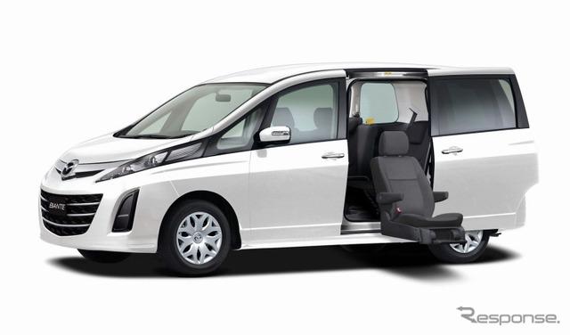Mazda biante (セカンドリフト-up seat car)