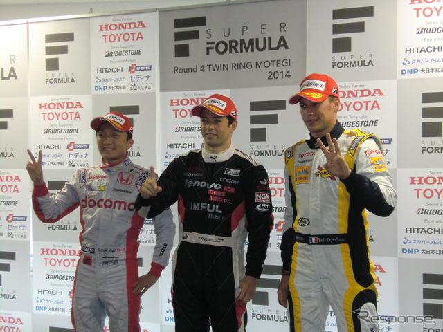 2 qualifying Nojiri, Paul Oliveira, Duval's third from left