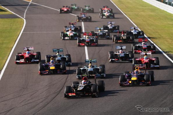 F1 Japan Grand Prix 2013