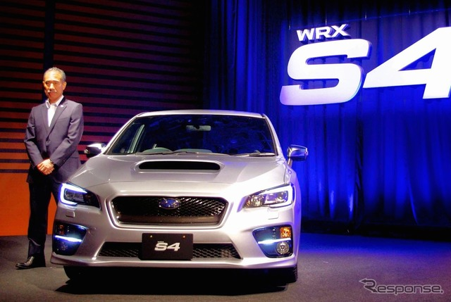 Subaru WRX S4 and Subaru Executive Director Mar Takeshi said