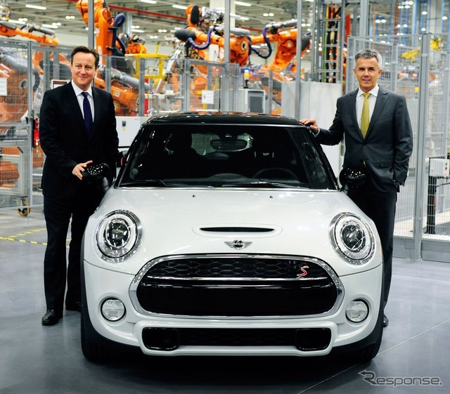 New MINI hatchback will be produced in the United Kingdom Oxford factory