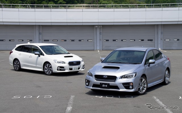 Subaru レヴォーグ and WRX S4