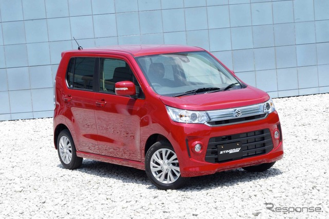 The all-new Suzuki Wagon R Stingray