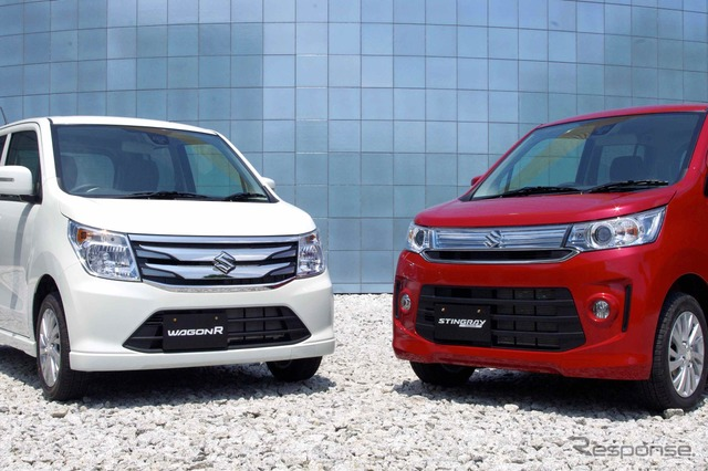 Suzuki Wagon R and wagon R Stingray new