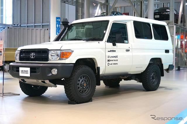Toyota Land Cruiser 78 トゥループキャリア